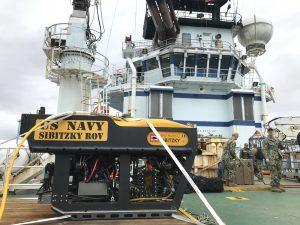 US Navy ROV